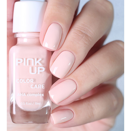 Лак для ногтей `PINK UP` `COLOR CARE` тон 01 11 мл