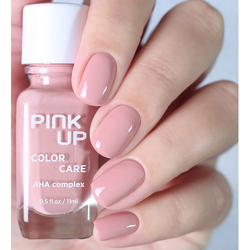 Лак для ногтей `PINK UP` `COLOR CARE` тон 04 11 мл