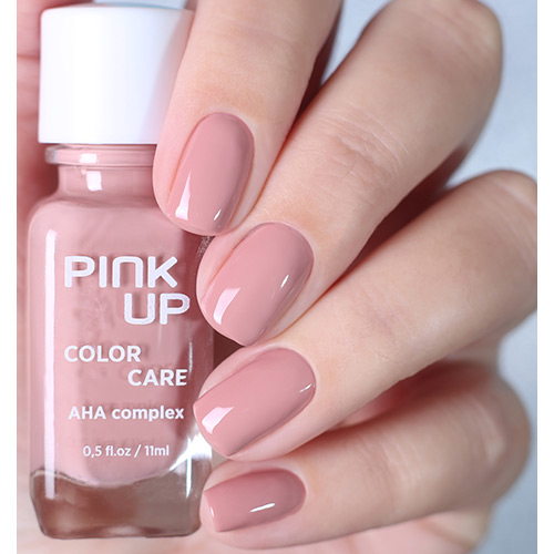 Лак для ногтей `PINK UP` `COLOR CARE` тон 08 11 мл