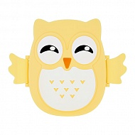 Ланч-бокс `FUN` OWL yellow 16 см