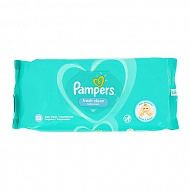 Салфетки детские `PAMPERS` FRESH CLEAN 52 шт